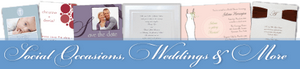 Social Occasions, Weddings, and More!